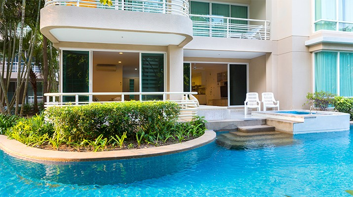 Baan San Ploen condominium, 3 bedrooms, ground floor
