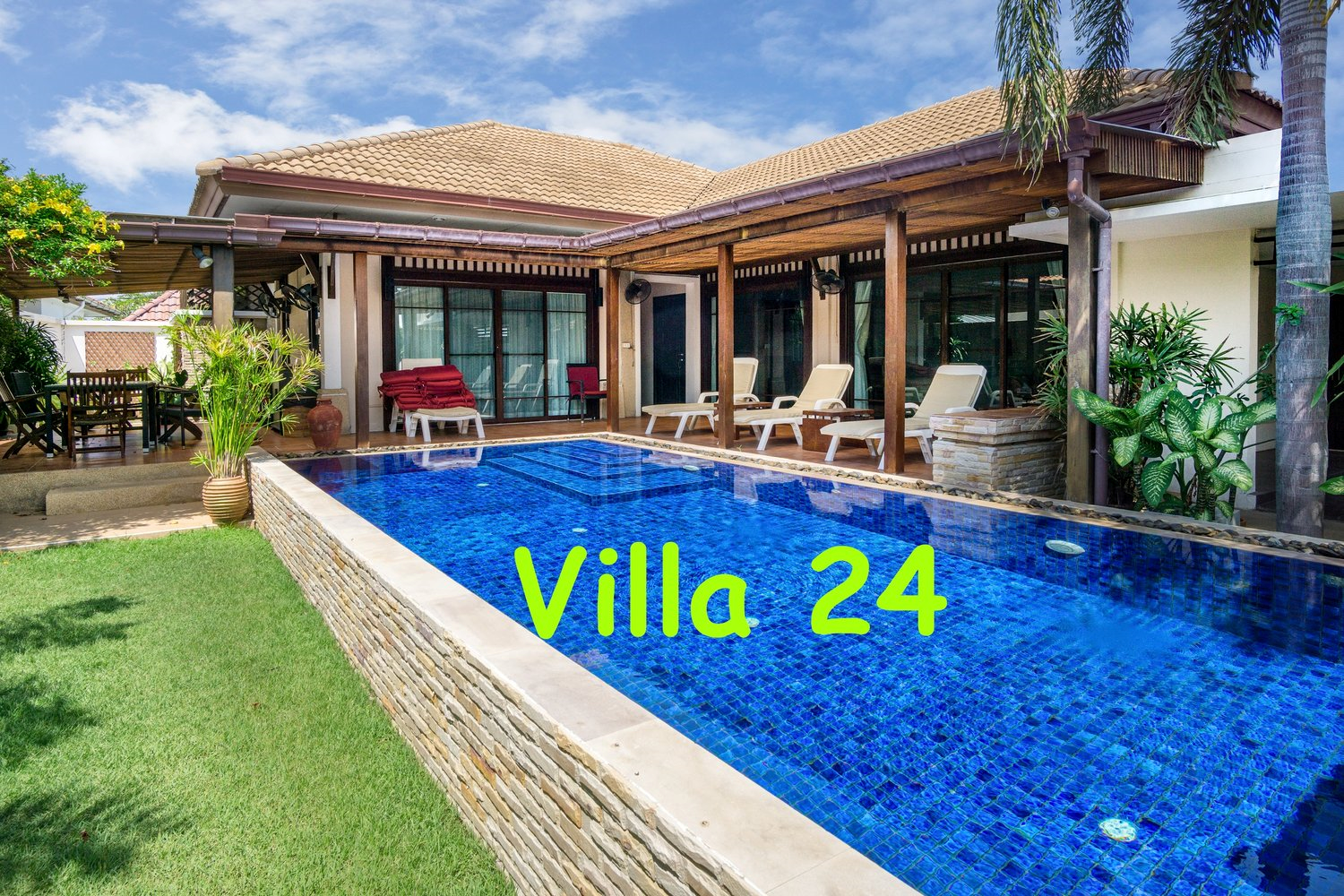 Basuba Pool Villas, No 24, 4 bedrooms