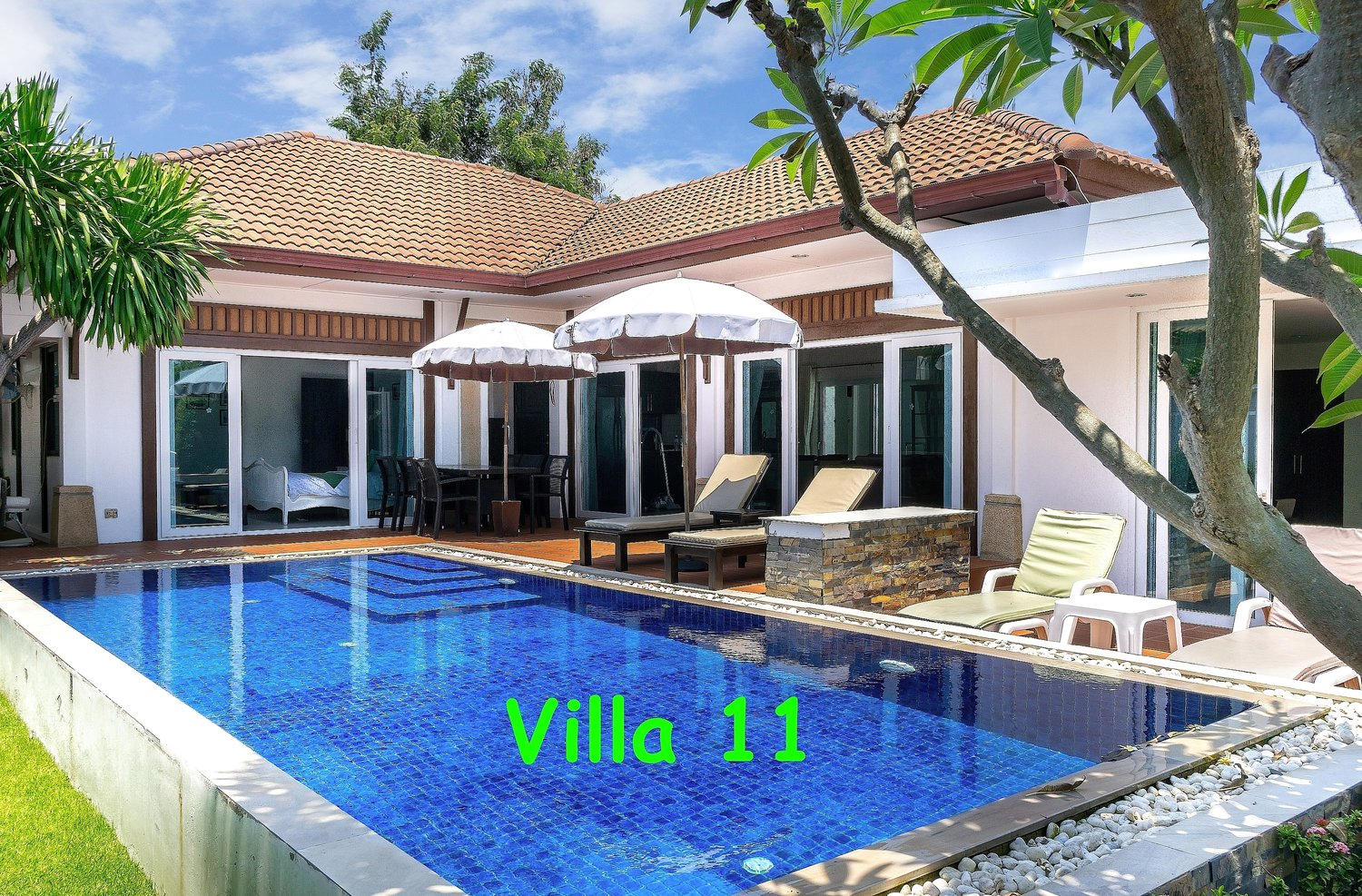 Basuba Pool Villas, no. 11, 4 bedrooms