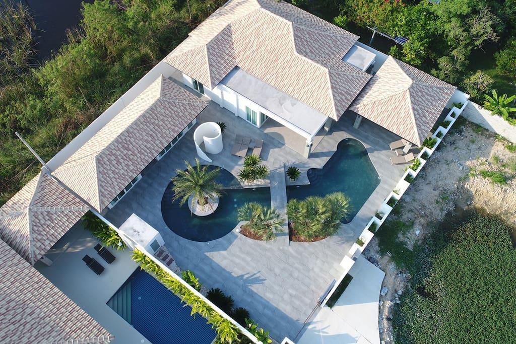 Orchid Paradise Homes resort/village, 5 soveværelser