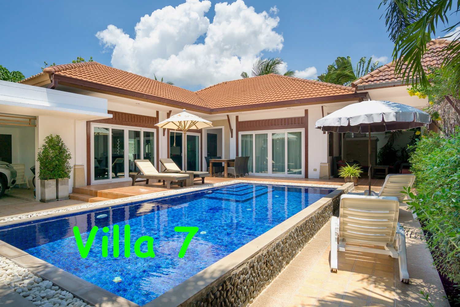 Basuba Pool Villas, no. 7, 3 bedrooms